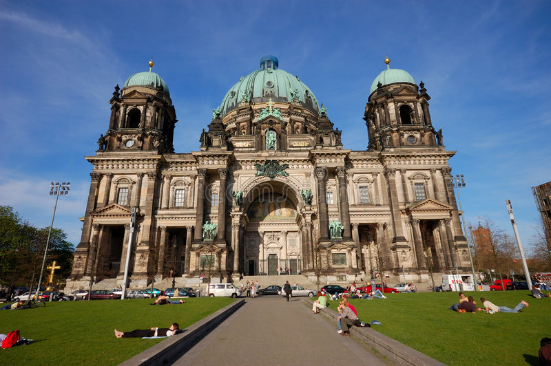 Download Berlin Cathedral stock photo. Image of dome, cathedral - 2311110