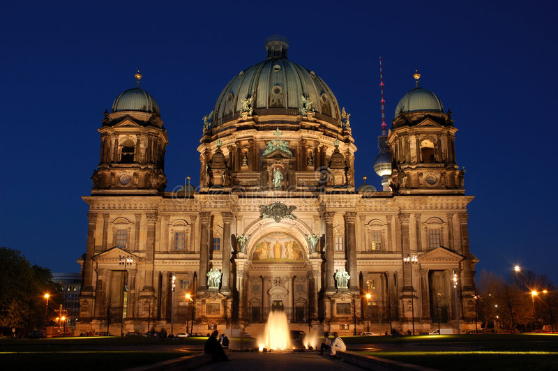 Download Berlin Cathedral stock photo. Image of berlin, church - 2360750