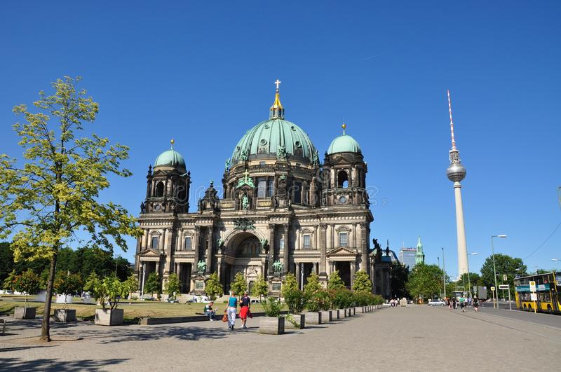 Berlin Cathedral photographie stock