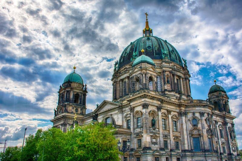 Berlin Cathedral immagini stock libere da diritti