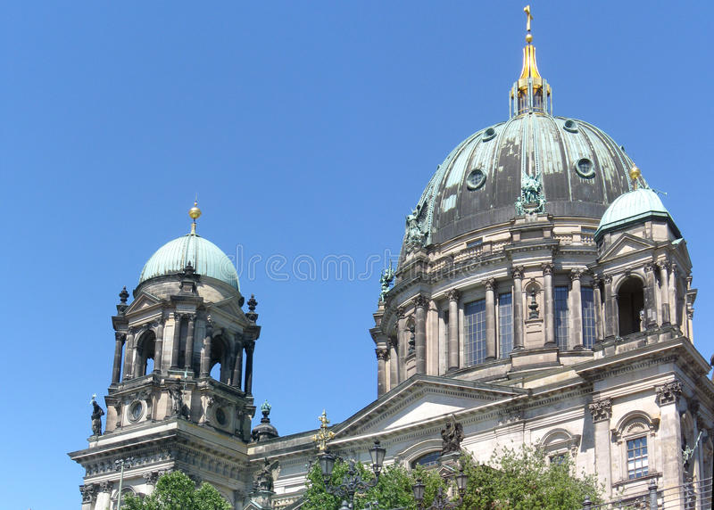 Berlin Cathedral stock foto's
