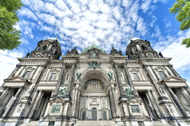 Berlin Cathedral stock fotografie