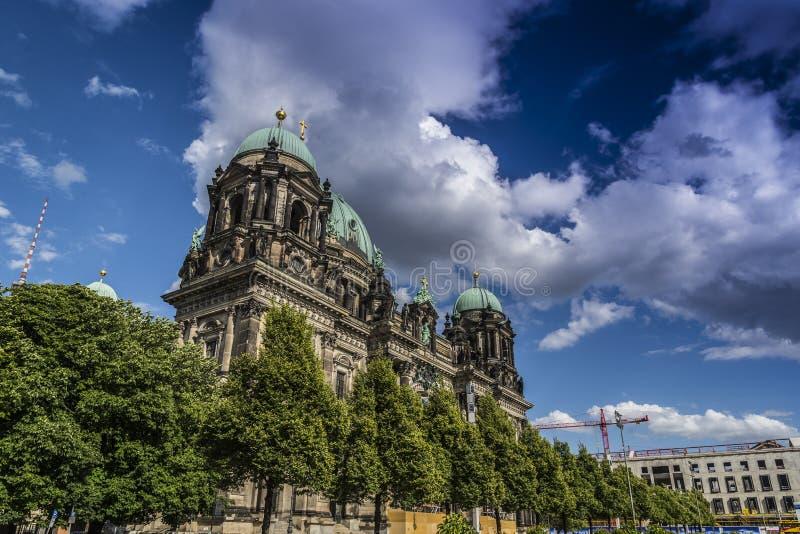 Berlin Cathedral royalty-vrije stock foto's