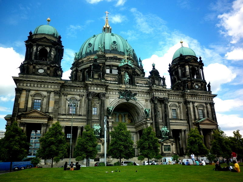 Berlin Cathedral foto de archivo libre de regalías
