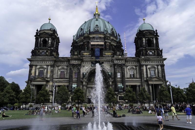 Berlin Cathedral images libres de droits