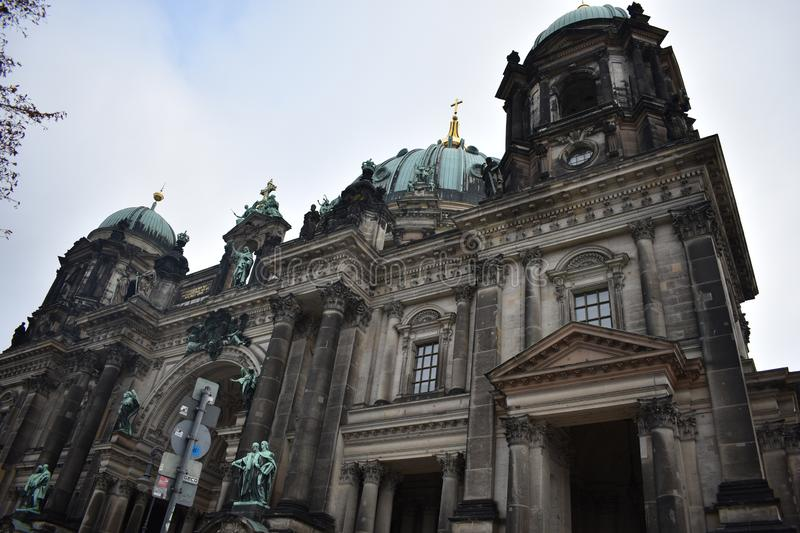 Berlin Cathedral stock afbeelding