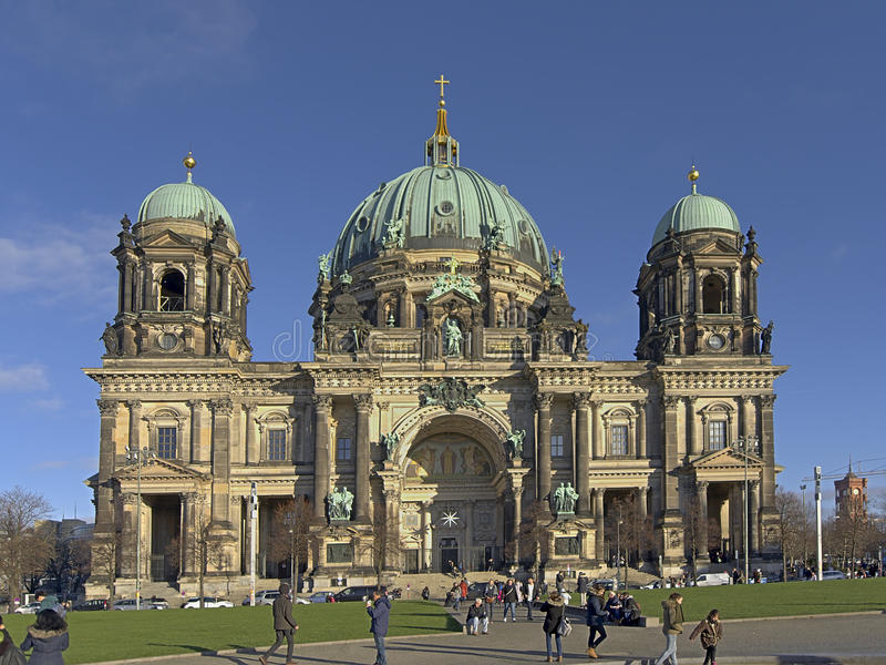 Berlin cathedral royalty free stock photo