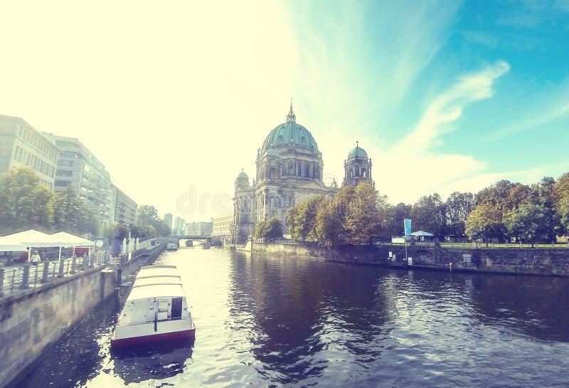 Berlin Cathedral Berliner Dom, Alemania imagenes de archivo