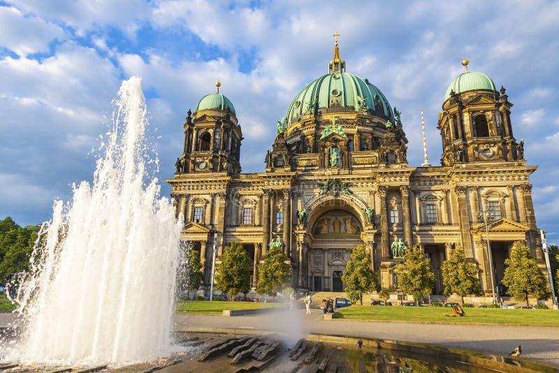 Berlin Cathedral Berliner Dom en Berlín, Alemania imagen de archivo libre de regalías