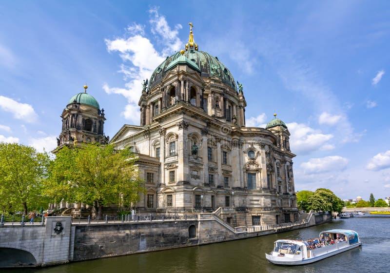 Berlin Cathedral Berliner Dom en la isla de museo, Alemania fotos de archivo libres de regalías