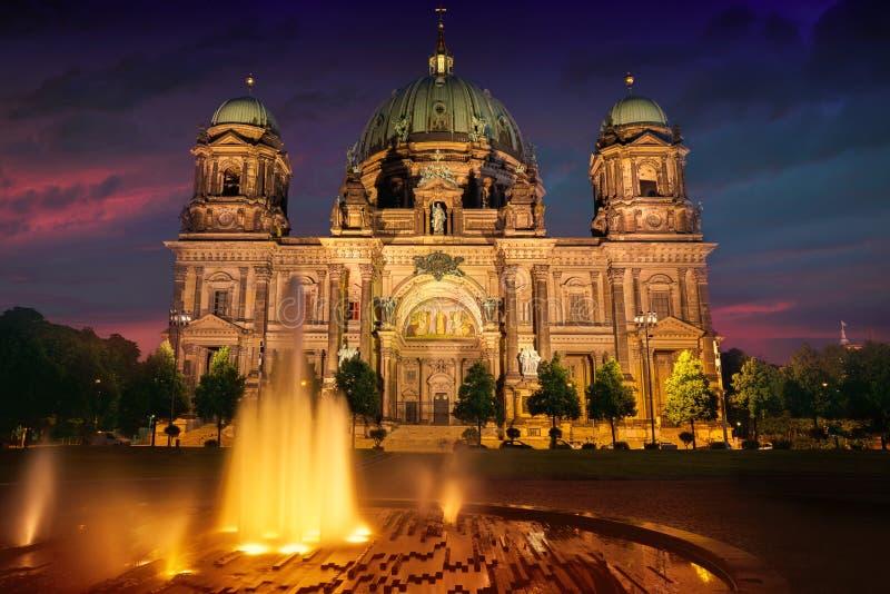 Berlin Cathedral Berliner Dom Germany fotografía de archivo