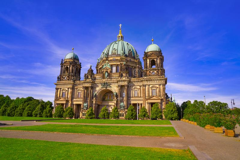 Berlin Cathedral Berliner Dom Germany royalty-vrije stock foto