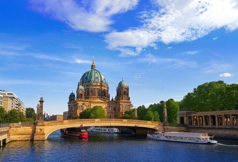 Berlin Cathedral Berliner Dom Germany foto de archivo