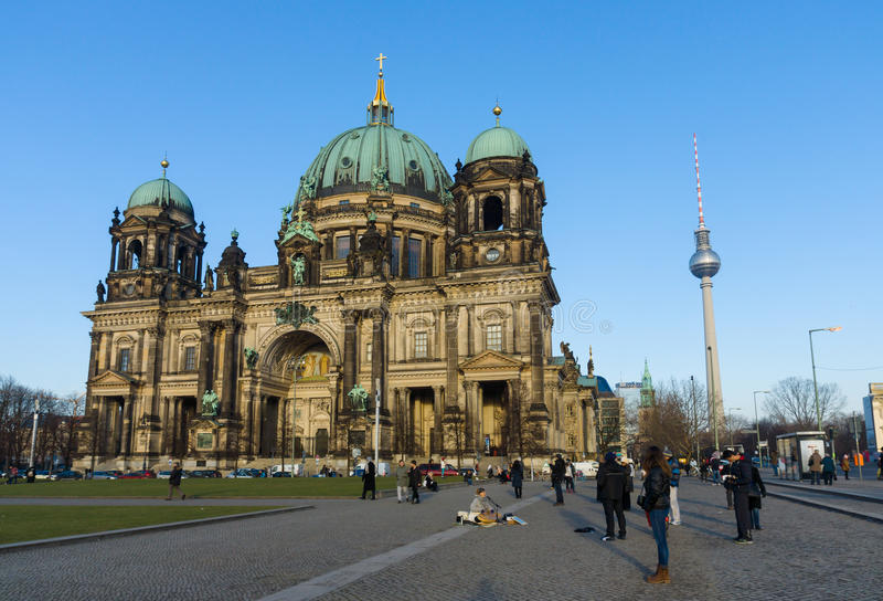 Download Berlin Cathedral (Berliner Dom) Editorial Photo - Image of parish, style: 40423221