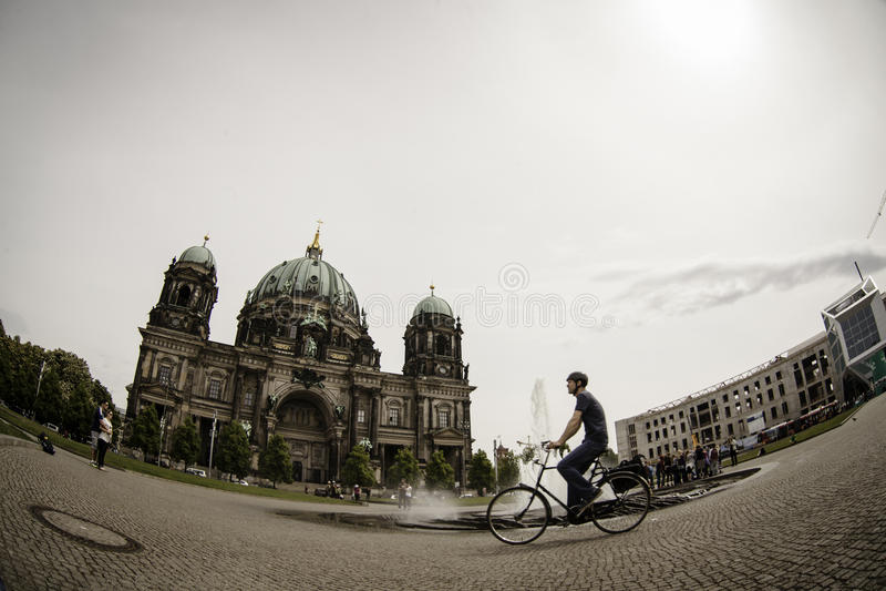 Berlin Cathedral (BerlinerDom), Berlin royaltyfri fotografi