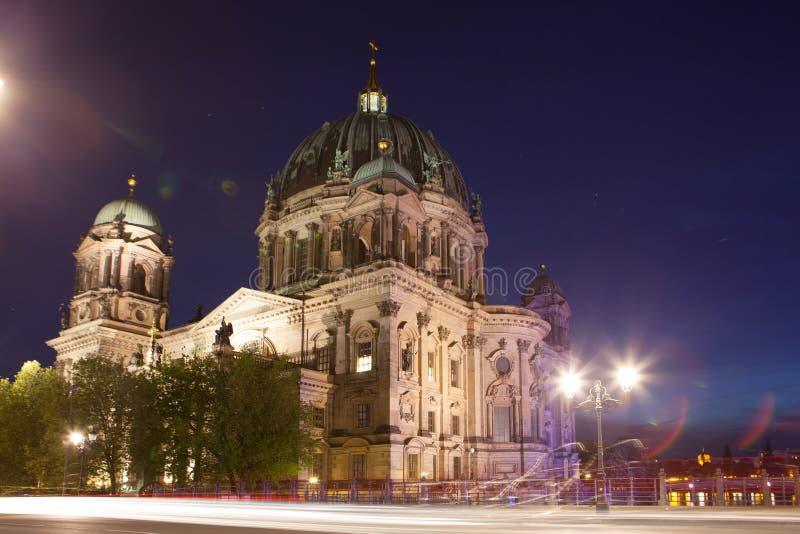 Berlin Cathedral (BerlinerDom), Berlin arkivfoton
