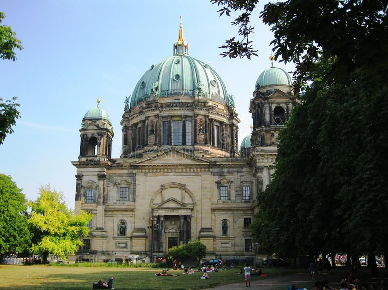 Berlin Cathedral Church stock afbeelding