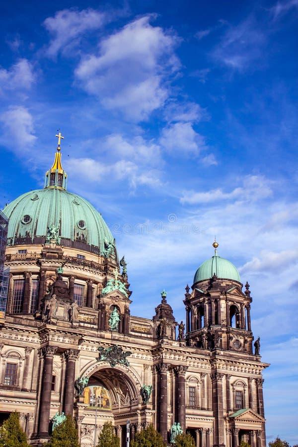 Berlin Cathedral in Deutschland lizenzfreie stockfotos