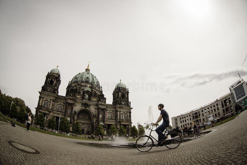 Berlin Cathedral (DOM) del berlinese, Berlino fotografia stock libera da diritti