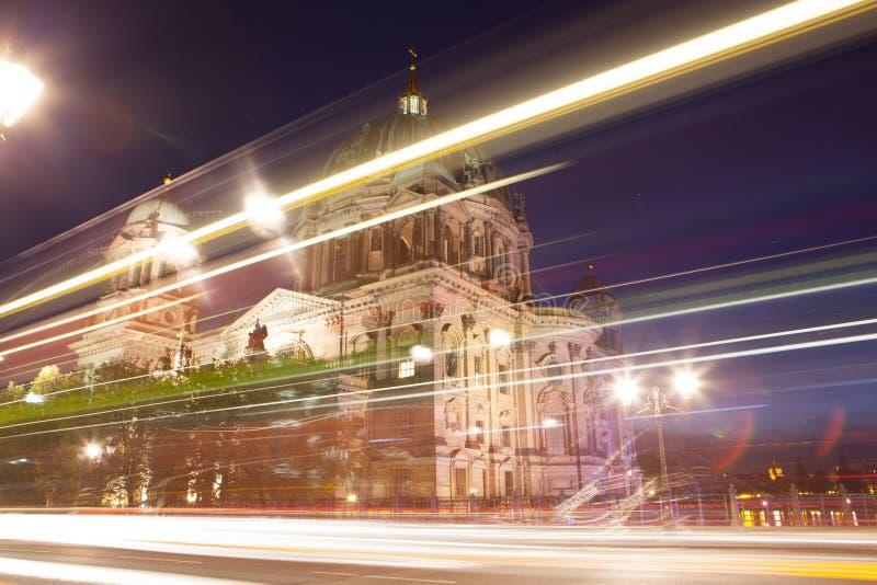 Berlin Cathedral eller BerlinerDom arkivfoto