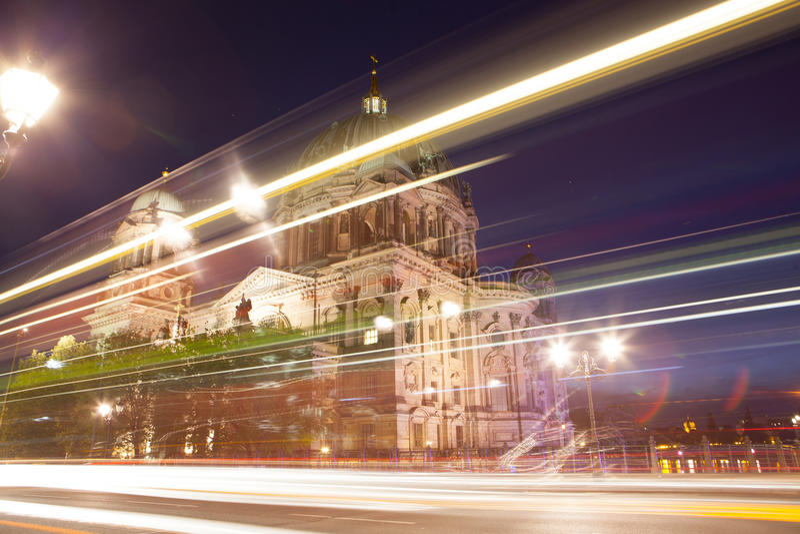 Berlin Cathedral eller BerlinerDom royaltyfria bilder