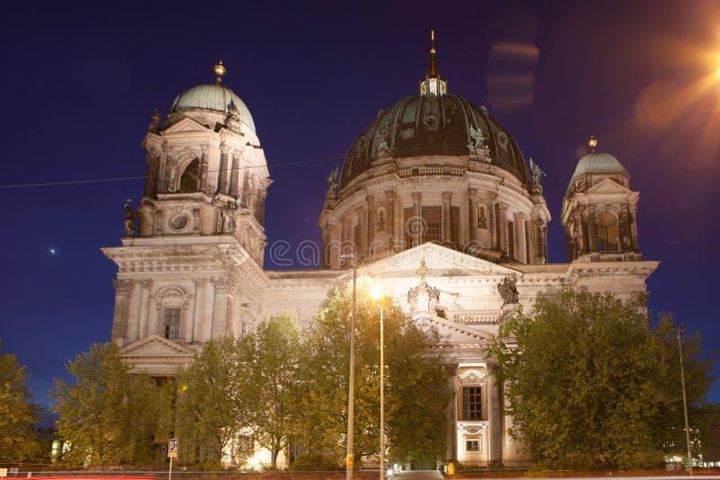 Berlin Cathedral eller BerlinerDom arkivbild
