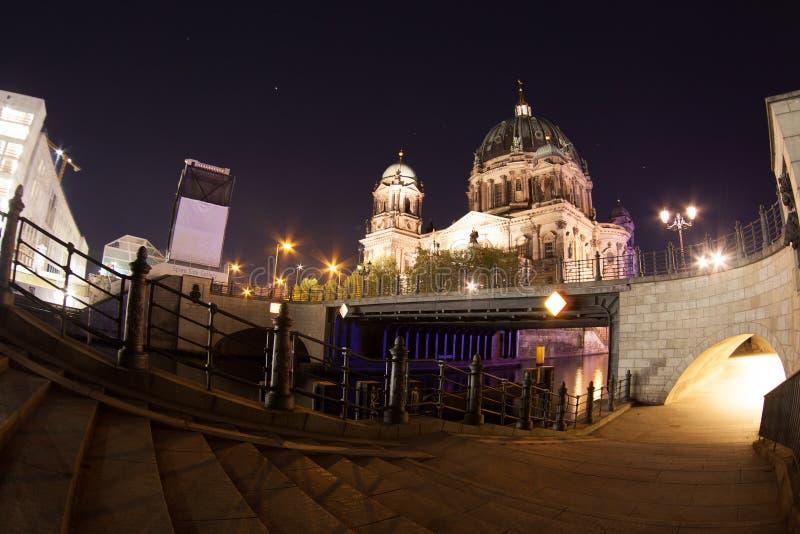 Berlin Cathedral eller BerlinerDom royaltyfri fotografi