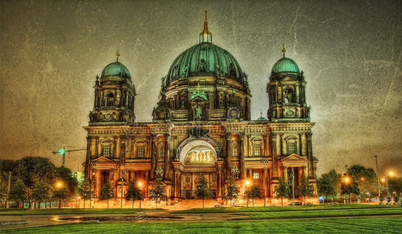 Berlin Cathedral Germany royaltyfri bild