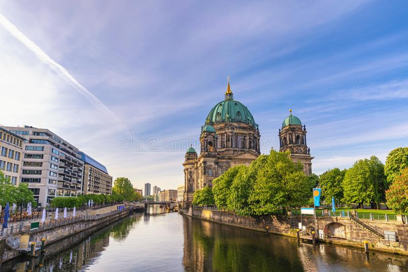 Berlin Cathedral Germany stock afbeeldingen
