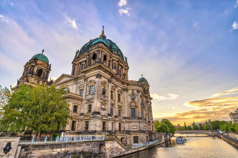 Berlin Cathedral Germany royalty-vrije stock afbeeldingen