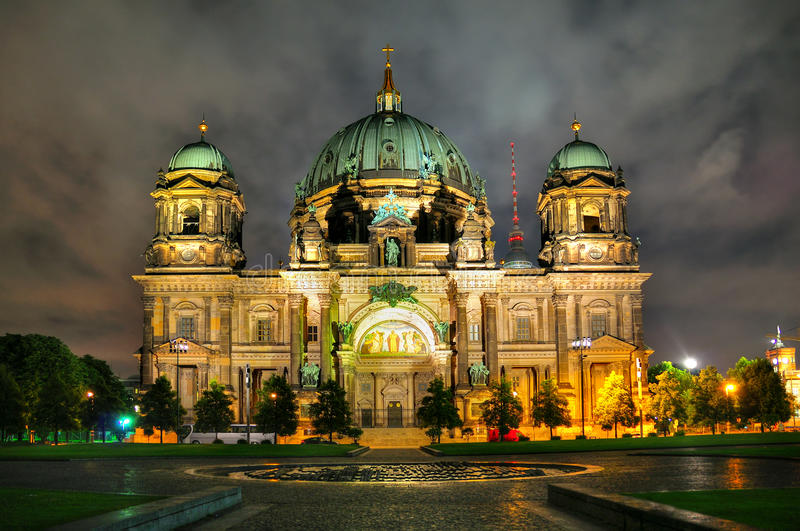 Berlin Cathedral, Germany stock images