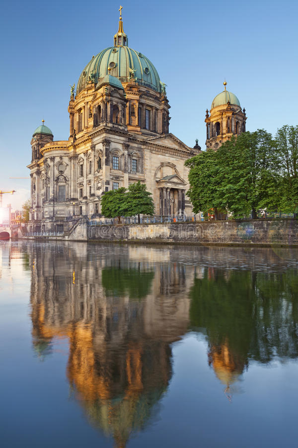Berlin Cathedral. royalty free stock image