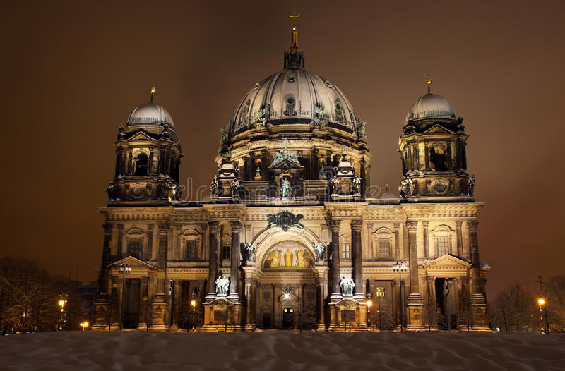 Download Berlin Cathedral At Night. Berlin, Germany Stock Photo - Image: 18523424