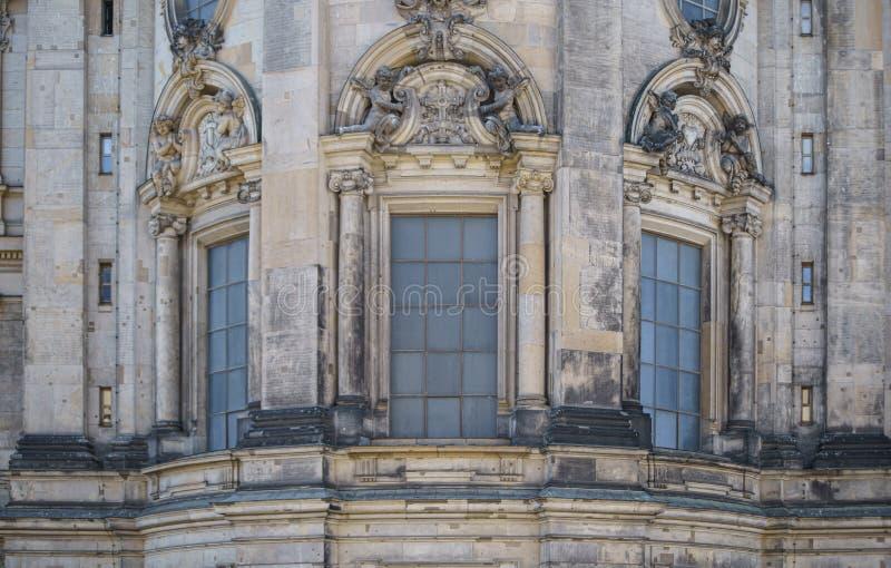Berlin Cathedral oder evangelische Oberste Gemeinde-und Collegekirche stockbild