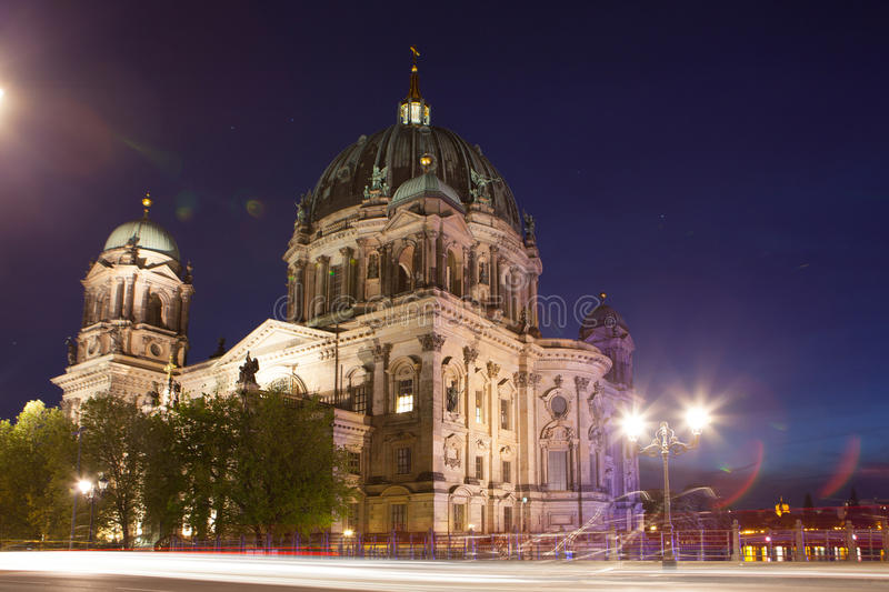 Berlin Cathedral (os DOM) do berlinês, Berlim fotos de stock