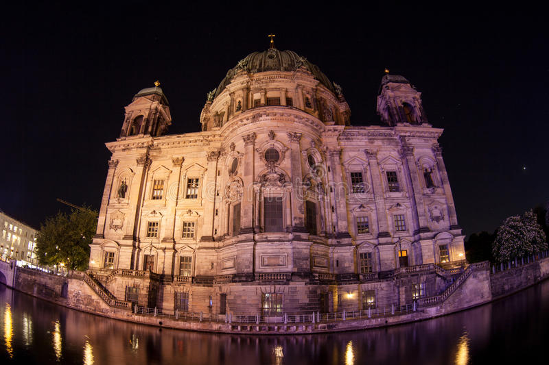 Berlin Cathedral, ou os DOM do berlinês foto de stock