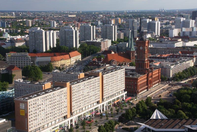 Berlin centrerar royaltyfria foton