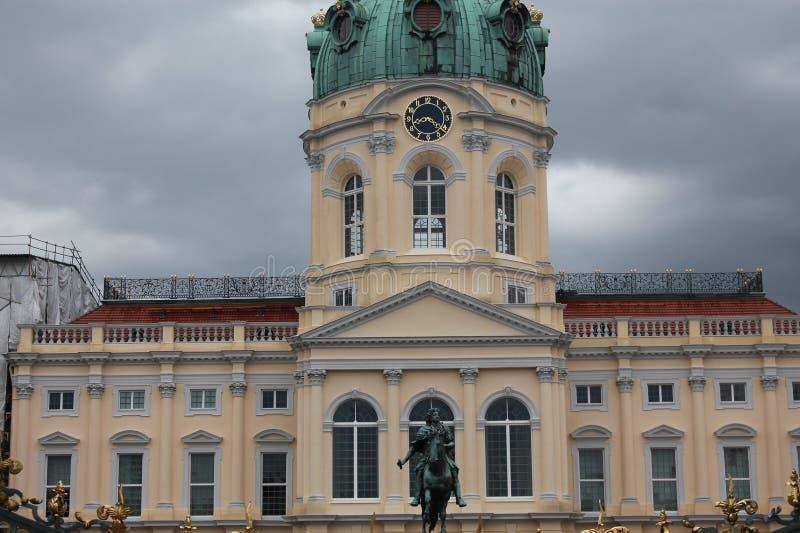 Berlin Charlottenburg slott fotografering för bildbyråer