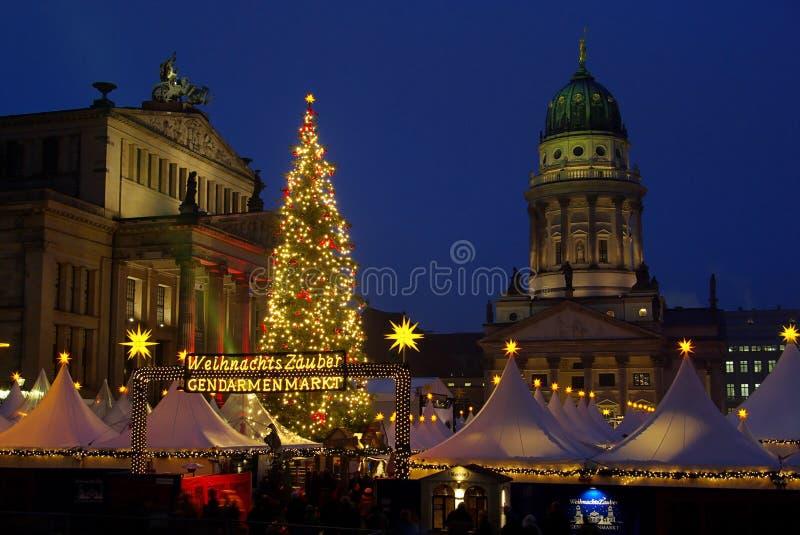 Berlin christmas market Gendarmenmarkt royalty free stock image