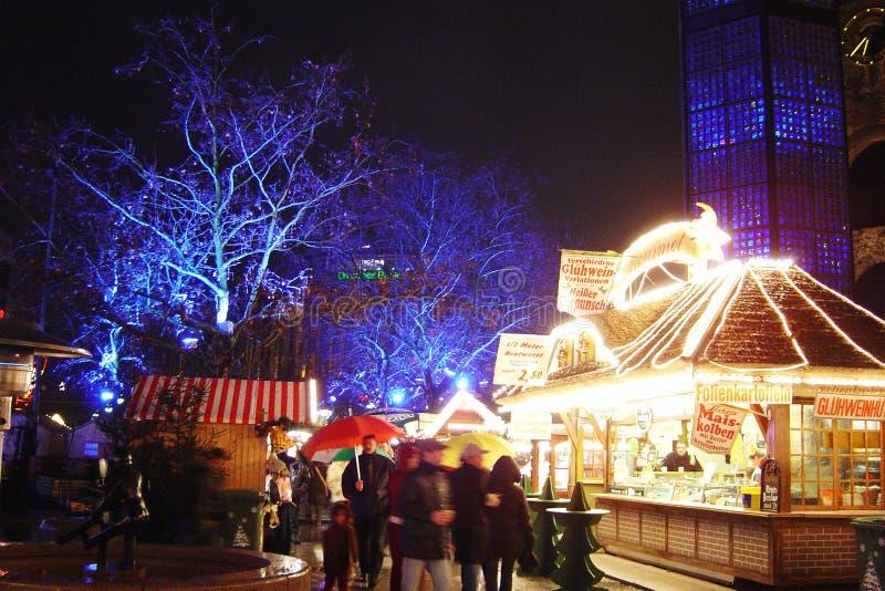 Berlin Christmas-markt royalty-vrije stock afbeeldingen
