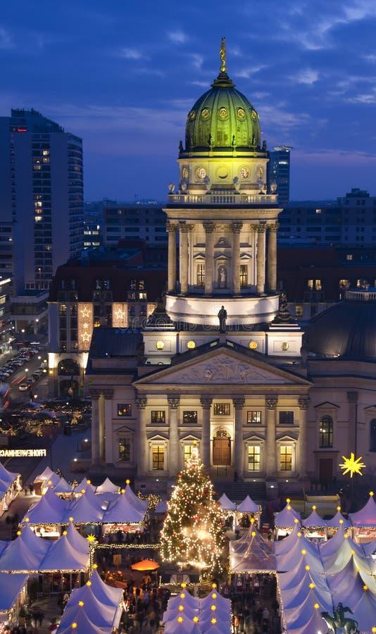 Berlin christmastime royalty free stock image