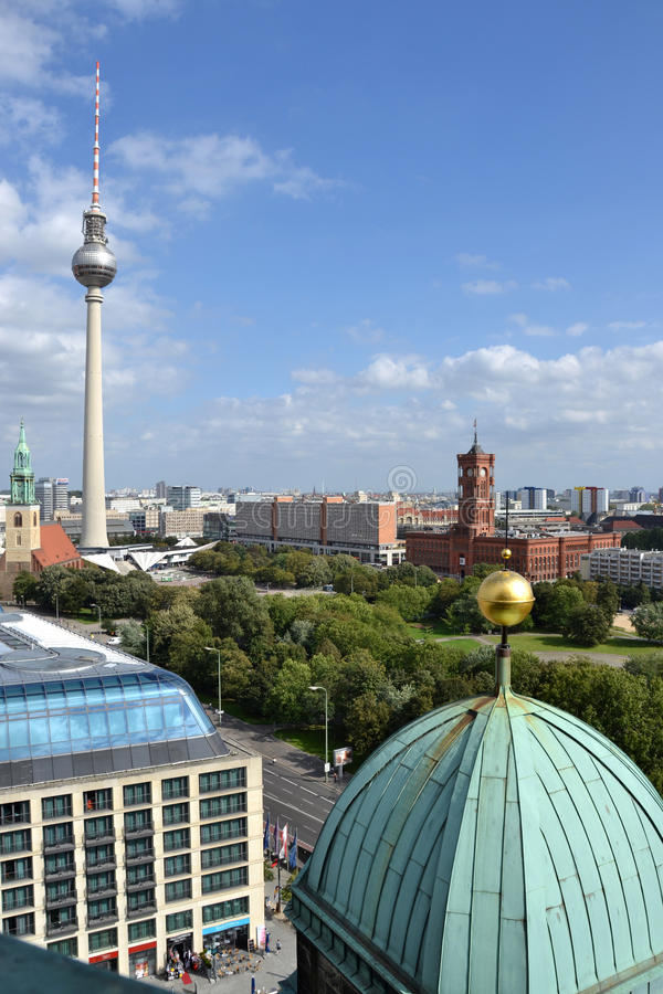 Download Berlin city view stock image. Image of platz, park, street - 22351803