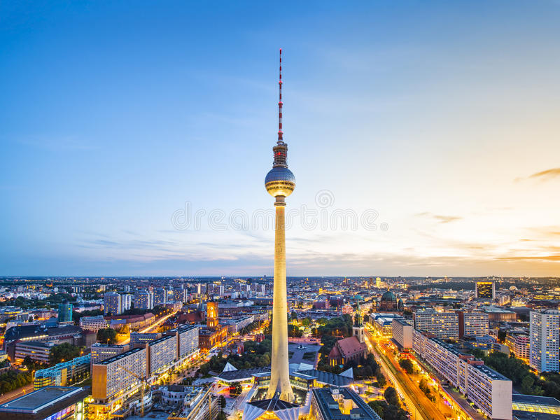 Berlin Cityscape photo stock