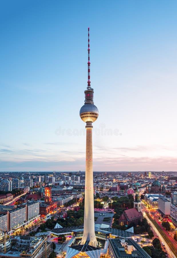 Berlin Cityscape fotografia stock libera da diritti