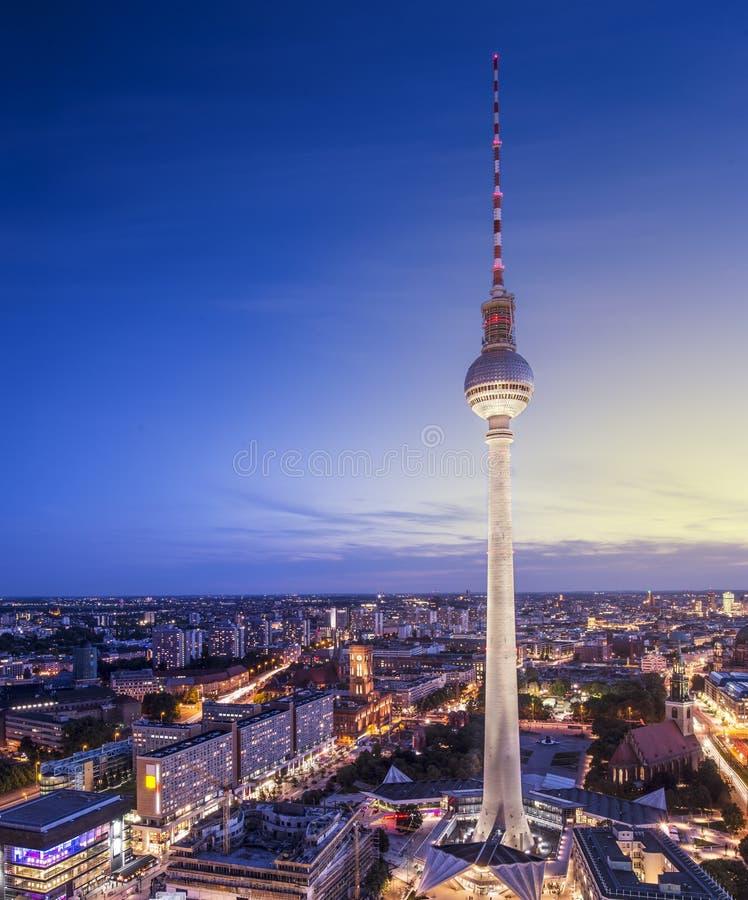 Berlin Cityscape images libres de droits
