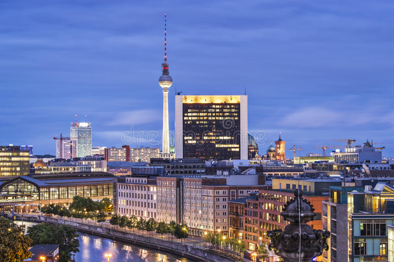 Berlin Cityscape photographie stock