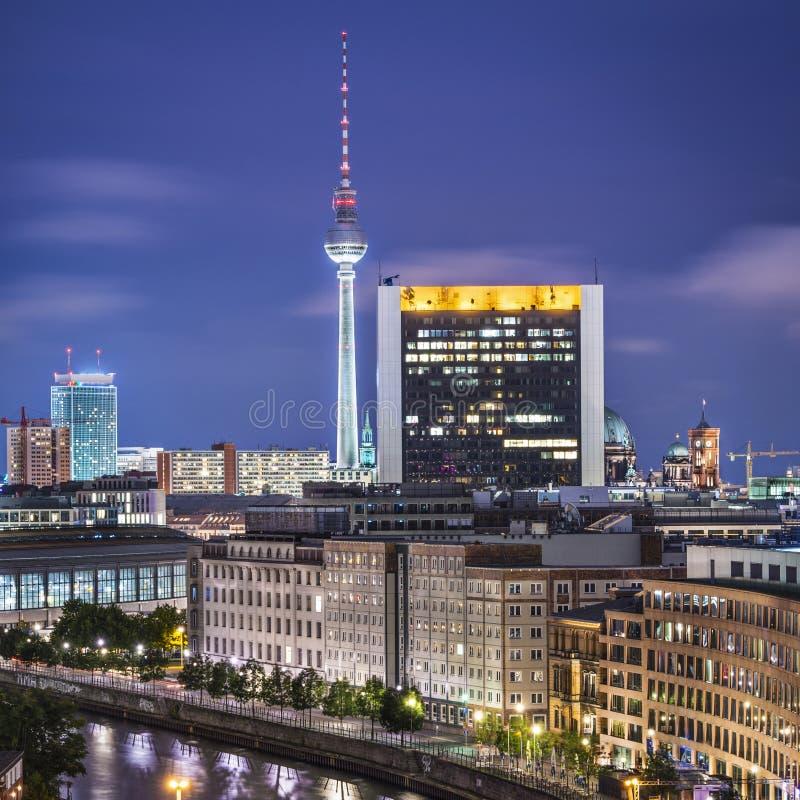 Berlin Cityscape royalty free stock photography