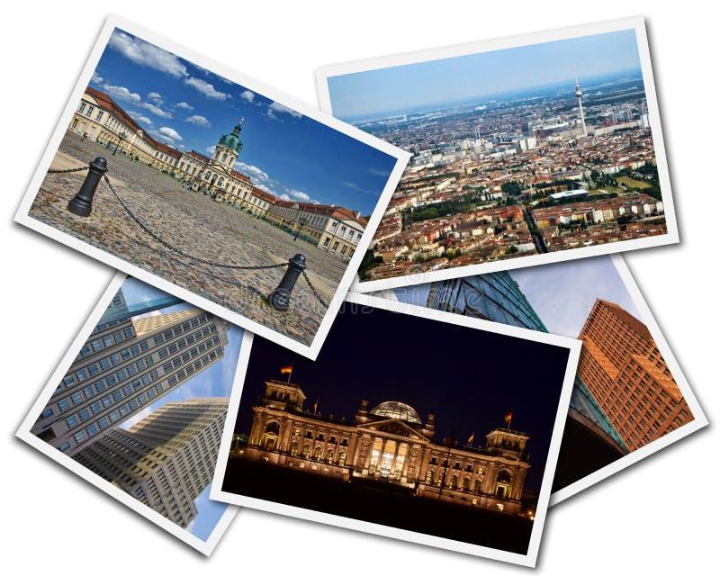Berlin Collage fotografie stock