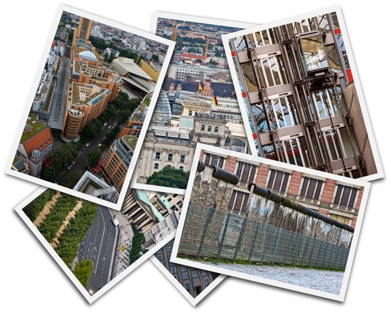 Berlin Collage fotografie stock libere da diritti