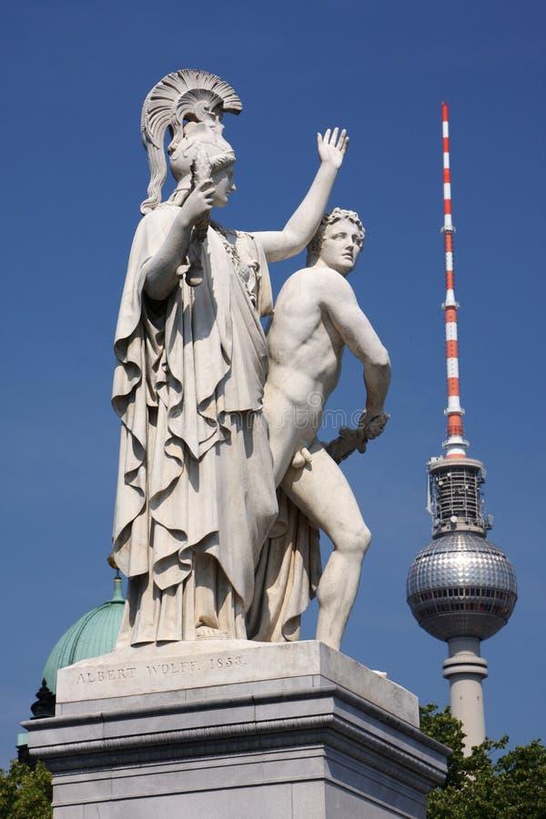 Berlin contrast arkivfoton